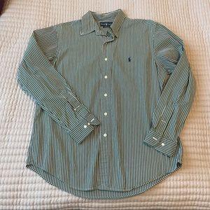 Polo by Ralph Lauren Striped button down shirt
